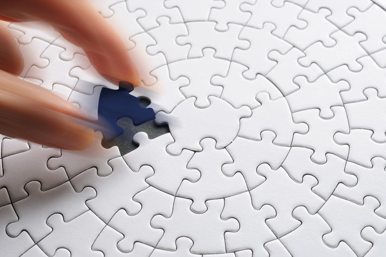 Blauw puzzelstukje Detachering & Interim